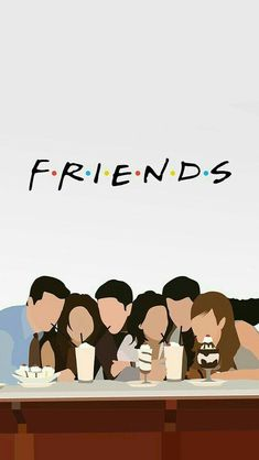Uploaded by Yasmin Guerra. Find images and videos about friends, wallpaper and t… Uploaded by Yasmin Guerra. Find images and videos about friends, wallpaper and [. Friends Tv Show, Tv: Friends, Friends Moments, Funny Friends, Friends Image, Cartoon Wallpaper, Wallpaper Iphone Cute, Disney Wallpaper, Cute Wallpapers
