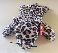 TY BEANIE BABIES Leopard FRECKLES Stuffed Animals Toys Kids Girls Collectible  #Ty