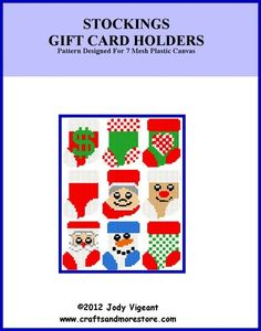 STOCKING GIFT CARD HOLDERS 1
