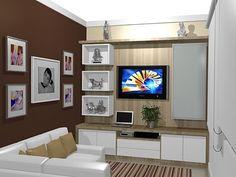 Sala com Sofá de quina