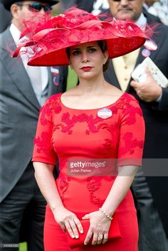 Princess Haya bint Al Hussein, attends day 3 of Royal Ascot at Ascot Racecourse on June 16, 2016 in Ascot, England. (Photo by Julian Parker/UK Press via Getty Images)