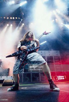 Dimebag Darrell / guitarist of Pantera during Pantera Live at San Diego in San Diego, California, United States.