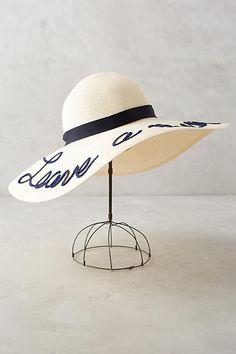 Leave-A-Message Sun Hat