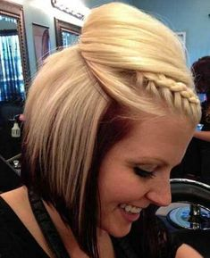 Swell Easy Prom Hairstyles Braids Long Hair And Hair To The Side On Short Hairstyles Gunalazisus