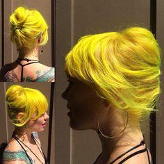 Nicole's amazing hair.