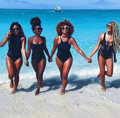 Black Beauty, Excellence and Culture♥️✊ That Carefree Black Girl Black Girls Rock, Black Girl Magic, Black Girl Beach, Moda Afro, Videos Instagram, Friends Instagram, Instagram Shop, My Black Is Beautiful, Beautiful Body