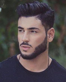 Beard Styles For Men, Hair And Beard Styles, Hair Styles, Hipster Haircuts For Men, Barber Haircuts, Beard Haircut, Beard Game, Hipster Man, Beard Trimming