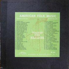The Harry Smith Anthology of American Folk Music