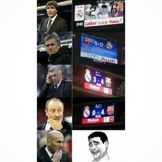 Entrenadores del Real Madrid y su primer partido ante el Barça