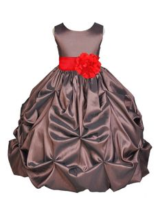 86bbe54a8 Color options are only for sash and flower. - We used an additional  petticoat
