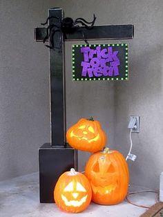 seasonal porch size (3') sign holder