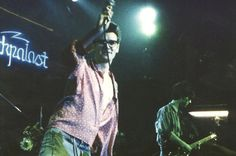 Morrissey and Johnny Marr: The Smiths live at Markthalle, Hamburg, Germany on May 4,1984. This concert was filmed and broadcast on the German television show 'Rockpalast'.
