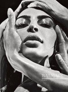 Balmain Fall-Winter 2016 Ad Campaign Steven Klein Kim Kardashian