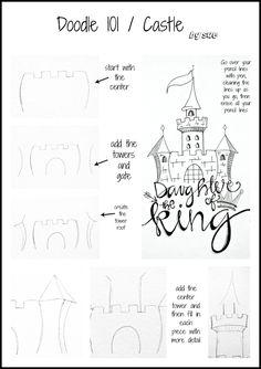 ideas for doodle art journal words Scripture Art, Bible Art, Scripture Doodle, Doodle Drawings, Doodle Art, Doodle Images, Bible Doodling, Doodles, Doodle Lettering