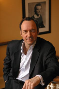 Kevin Spacey. I think I'm in love. Brilliant actor. Funny. Smart. Dimpled.