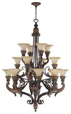 Quorum Lighting QR-6230-16-88 Madeleine Traditional Chandelier traditional chandeliers