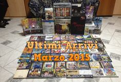 Collezione Videogames: Ultimi Arrivi Marzo 2015