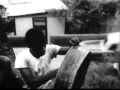 1956 film:  Historical Moment of Steel Pan Creation & Tuning, from Trini...
