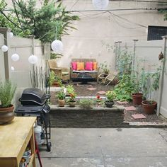 """Before & Afters"" of a DIY $500 Brooklyn backyard makeover"