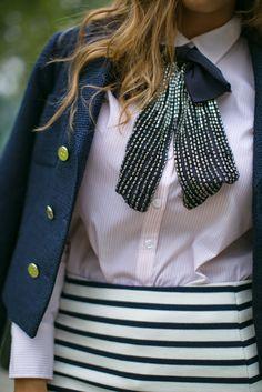oversize bow tie