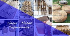 Hasır Halat İle Yapılmış Doğal Tasarımlar | Beauty Perry Inner World, Decoration, Interior And Exterior, Living Spaces, Old Things, Presents, Handmade, Beauty, Designs