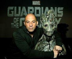 Le secret Marvel le moins bien gardé est officiel, #VinDiesel est bien la voix de Groot dans #LesGardiensDeLaGalaxie