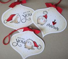 Penny Black tags by donna, cute I think I need this stamp!