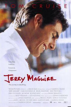 Jerry Maguire (Tom Cruise) Lealtà? Rispetto? Cuore? Ma dove! Il mondo del lavoro è sempre più spietato e i romantici alla #JerryMaguire finiscono disoccupati o brutalmente sfruttati
