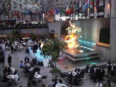 De fiesta en el Rockefeller Center,2012