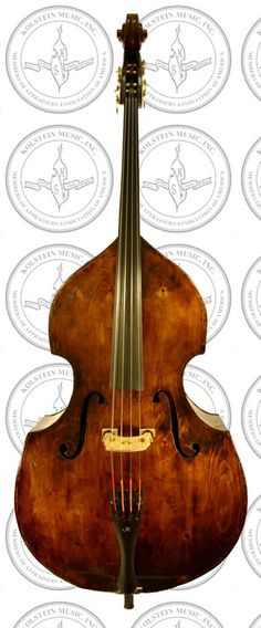 Old English Bass Violin Attributed to the Tarr School