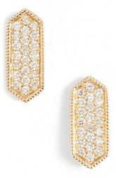 Dana Rebecca Designs 'Cynthia Rose' Diamond Pavé Stud Earrings (Nordstrom Exclusive)