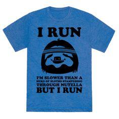 59d3df9831550 I Run Slower Than A Herd Of Sloths Tank Top