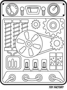 Gears for robot craft