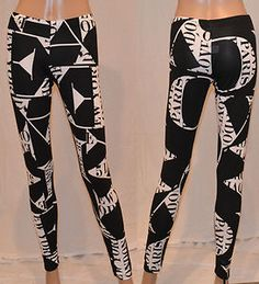New york Topshop print leggings made in the united kingdom only £6.99 buy now