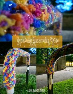 The Yarn Bombing Adventures of Woollysaurus and Chums | woollysaurus