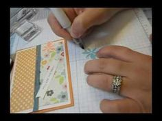 Demo on how to use fab new product by Zig. Wink of Stella (goofy name - great product). I love shine and shimmer. Stella Luna, Wink Of Stella, Amazing Adventures, Brush Pen, Craft Tutorials, New Product, Scrapbooking, Paper Crafts, Colouring