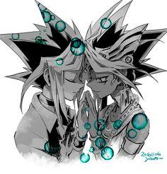 Pixiv Id 2075835, Yu-Gi-Oh!, Yu-Gi-Oh! Duel Monsters, Pharaoh Atem, Mutou Yuugi, Yami Yugi