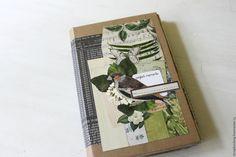 Купить Блокнот для записей / travel - ярко-зелёный, Скрапбукинг, блокнот, блокнот ручной работы