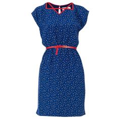 Milla Dress Blue » This is really cute, love the neckline.