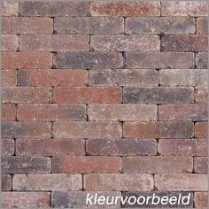 Tambour Bestrating Oud Bont Rijnformaat (15 x 5 x 7,5 cm)