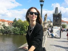 Eugenia Silva en Praga