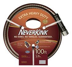 NeverKink 5/8-Inch by 100-Feet Series 3000 Extra Heavy Duty Garden Hose