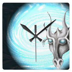 silas dragon wall clocks