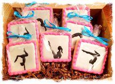 Gymnastics/gymnast cookies | Cookie Connection