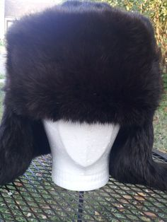 Ushanka Soviet Union CCCP made private Mink by EclecticCraftsArts, $100.00