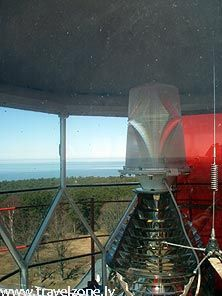 Ristna lighthouse lighting device, Hiiumaa island, Estonia