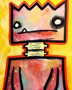 www.davecarender.com Online shop: http://ift.tt/1h4XMMU . . @davecarender - art @shittin_kittens - everything else .  #paint #painting #canvas #acrylic #ink #marker #lowbrow #lowbrowart #spraypaint #stickerart #streetart #urbanart #art #artist #artlife #artshow #artwork #artnight #azartist #artworld #artplanning #munny #kidrobot #kaiju #toys #toyart #paintart #monster #monsterart #colorfulart by shittin_kittens