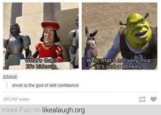 Shrek Memes That'll Make Your Brain Smart But Your Head Dumb Shrek is getting a reboot!Shrek is getting a reboot! My Tumblr, Tumblr Posts, Tumblr Funny, Disney Funny Tumblr, Dreamworks, Disney Pixar, Punk Disney, Disney Facts, Disney Animation