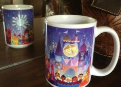 It's a Small World After All! Wonderground Gallery Small World Mug by Artist Joey Chou $30