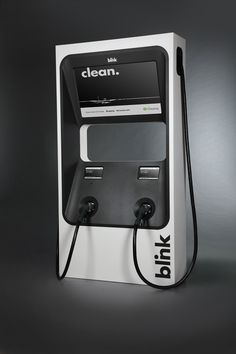 Blink EV Chargers on Behance
